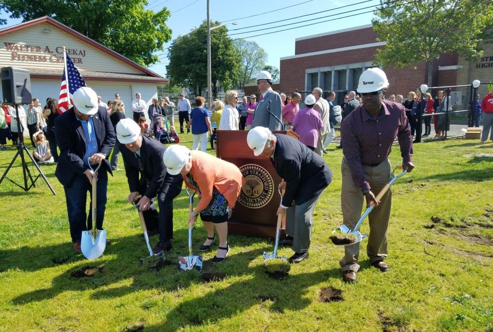 Stratford High Renovation Begins with Groundbreaking