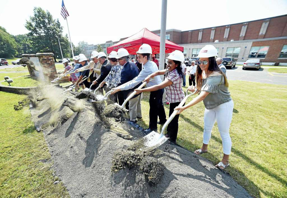 West Haven celebrates ground-breaking for new high school