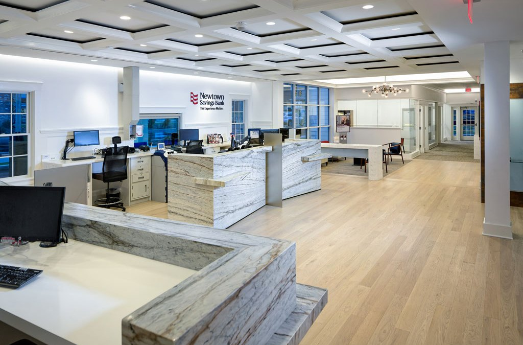 Newtown Savings Bank's New Branch is Historic Yet Modern