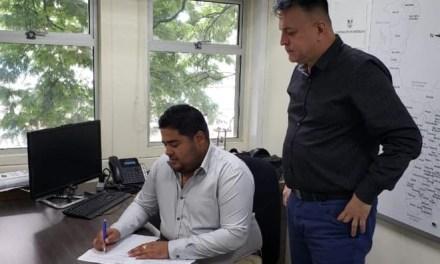 Alcaldía de Sopetrán firma convenio con Indeportes Antioquia para mejorar placa polideportiva del corregimiento de Córdoba
