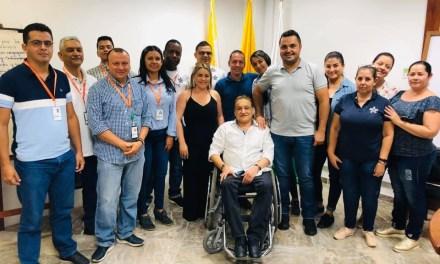 Federico Gil  hace alianza con el Sena por la Educación