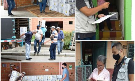 Ciudad Bolivar entrega ayudas a adultos mayores