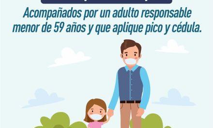 Girardota autoriza salida de menores de edad, pero con restricciones