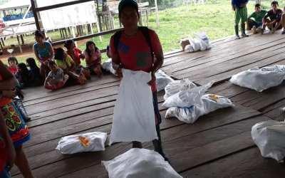 Murindó entrega ayudas a las comunidades indígenas