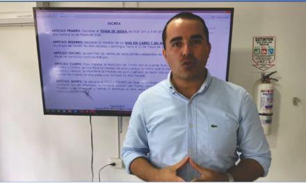 Aclaración del Decreto decreto 045 en Yondó
