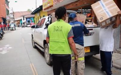 Gran Colombia Gold dona tapabocas a Remedios