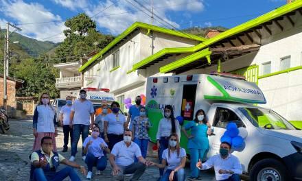 Heliconia estrena nueva ambulancia