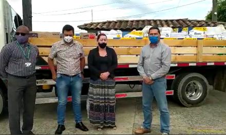Reforestadora Los Retiros hace donación en Montebello