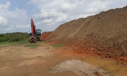 Finaliza construcción de dique en Nechí