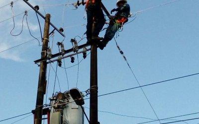 Restablecimiento de energía en Murindó