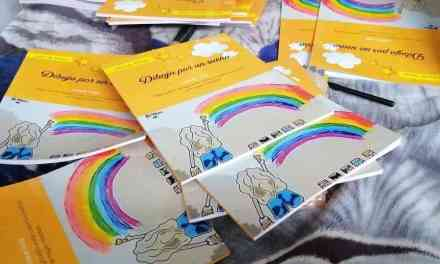 Niña del corregimiento Altavista vendía dibujos para poder estudiar, ahora publicó un libro