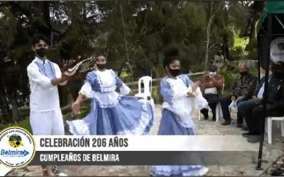 Belmira celebró sus 206 años de historia