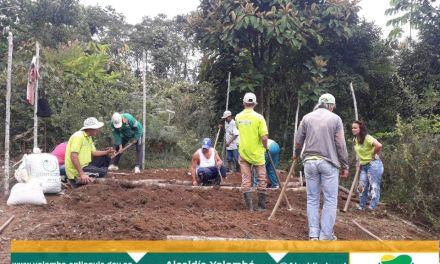 Implementación de huertas campesinas en Yolombó
