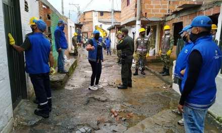 Demolición de viviendas dedicadas al expendio de drogas.