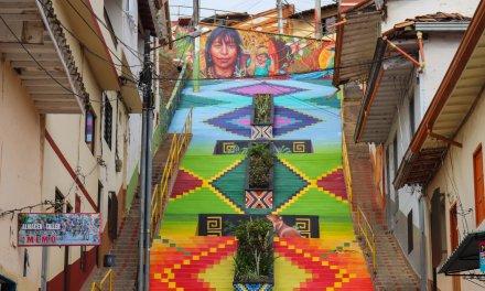 Andes recupera espacios por medio de la expresión artística
