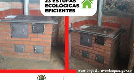 Estufas ecológicas en Angostura
