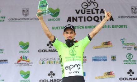 Un marinillo es el campeón de la vuelta Antioquia