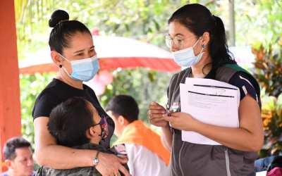 Brigadas de salud en las zonas rurales de Puerto Nare