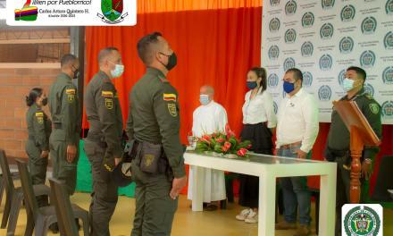 Pueblorrico hace un reconocimiento a la Policía Nacional