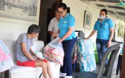 Olaya busca mejorar la seguridad alimentaria en los habitantes