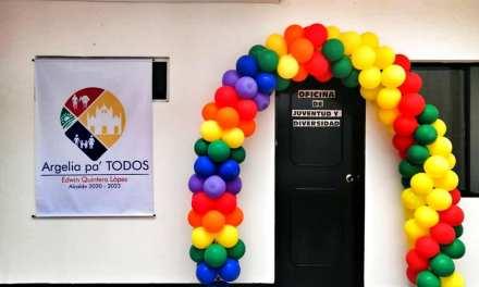 Argelia inauguró oficina de la juventud y diversidad