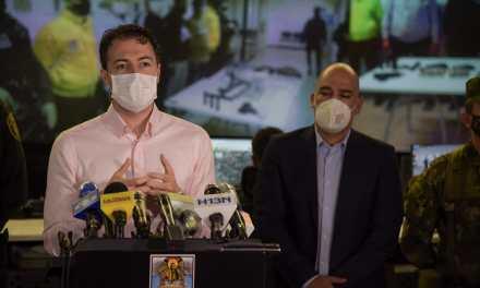 Reducción de delitos de alto impacto en Medellín