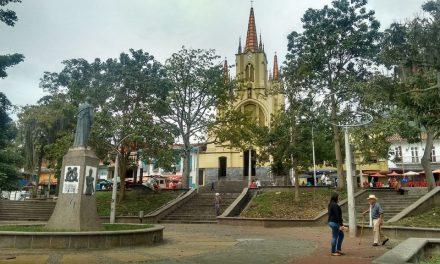 Amagá recibe visita del Departamento para el progreso del municipio