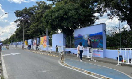 Ahora a la avenida de Guayabal la acompaña el arte urbano