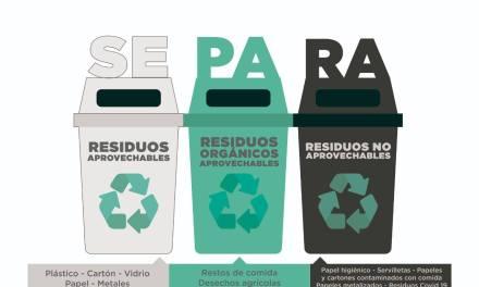 Código de colores para separar basuras en Colombia