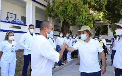 Puerto Berrío contó la visita del Gobernador de Antioquia, Aníbal Gaviria