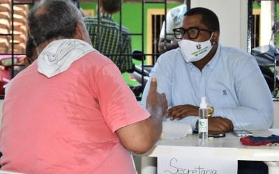 La alcaldía de Puerto Nare escucha a las personas del campo