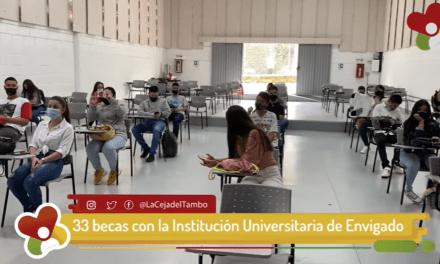 33 becas para estudiante de La Ceja