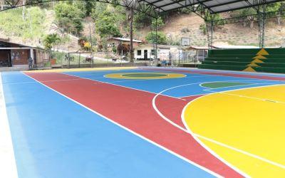 Yalí realizó una inversión de 17 millones para el mantenimiento de escenarios deportivos