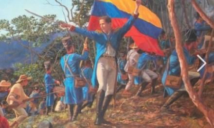 Conmemoración de la batalla de Chorros Blancos en Campamento, Antioquia