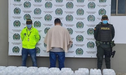 Retención del proceso de cocaína en Santa Rosa de Osos