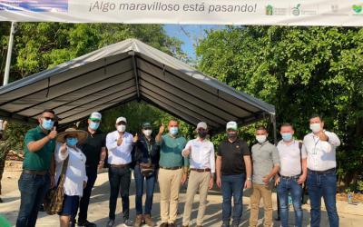 En Yondó se realizó la entrega de placa huella para el beneficio de las comunidades rurales