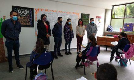 La Ministra de Educación conoció el modelo de alternancia en Rionegro