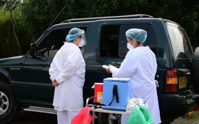 La Estrella inicia piloto de vacunación en vehículos
