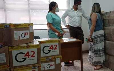 Equipos e implementos para el hospital de Amagá