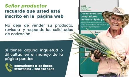 """""""Agroantioquiadigital.com"""" una nueva herramienta que favorecerá a los antioqueños"""