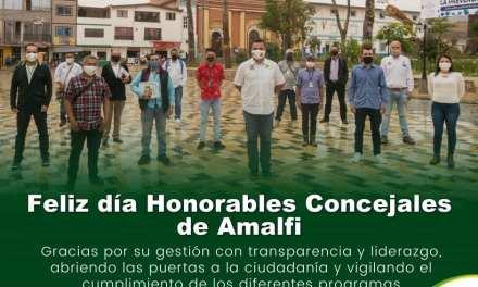 Amalfi conmemoró a sus concejales