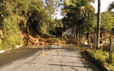 Varios derrumbes se reportaron en Alejandría