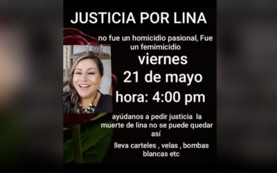Se convoca manifestación en El Carmen para rechazar el feminicidio que ocurrió el fin de semana