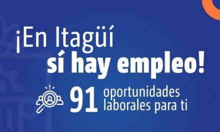 Ofertas de empleo en Itagüí