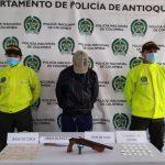 """En La Ceja fue capturado alias """"Cuchillo"""""""