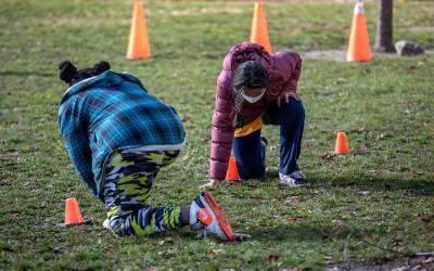 Jornadas de capacitación y recreación para niños en Giraldo