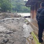36 viviendas afectadas y un desaparecido deja una creciente en Montebello