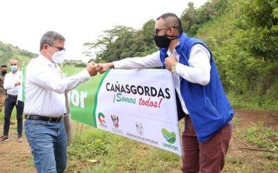 El Gobernador(e) visita Cañasgordas