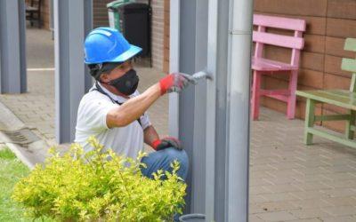En El Retiro crean una Asociación de Constructores para intervenir en sus obras locales