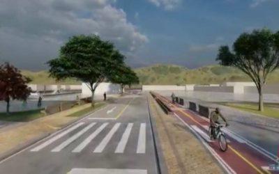 """En El Santuario comienza la segunda etapa del proyecto """"Vía Intermedia y Parques del Río"""""""